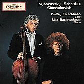 Myaskovsky, Schnittke, Shostakovich: Cello Sonatas