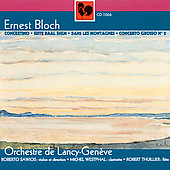 Bloch: Concertino, Dans les Montagnes, etc / Sawicki, et al