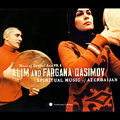 Fargana Qasimova/Alim Qasimov: Music Of Central Asia Vol. 6: Alim And Fargana Qasimov: Spiritual Music Of Azerbaijan [Digipak] *