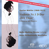 Mahler: Symphony no 1 [original version] / Förster, et al