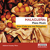 Malagueña - Piano Music from Cuba & Philippines / Acosta