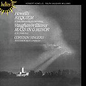 Howells: Requiem, etc;  Vaughan Williams: Mass in g / Best
