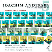Andersen: Complete Recordings Vol 5 - Works for Flute and Orchestra / Bellincampi, Jensen, et al