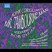 American Classics - Corigliano: Mr. Tambourine Man, Three Hallucinations / Falletta, Plitman, Buffalo PO