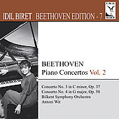 Beethoven Edition Vol 7 - Piano Concertos Vol 2 / Antoni Wit, Idil Biret, et al