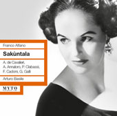 Franco Alfano: Sakuntala / Anna De Cavalieri, et al