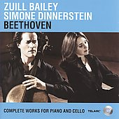 Beethoven - Complete Works for Piano & Cello / Zuill Bailey, Simone Dinnerstein
