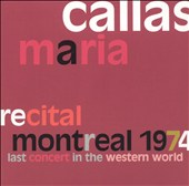 Recital, Montreal 1974: Last Concert in the Western World