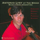 Antonio Lysy at The Broad: Music From Argentina - Ginastera, Piazzolla, Schifrin