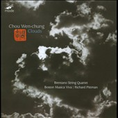 Chou Wen Chung: Clouds / Brentano String Quartet, Pittman