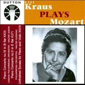 Mozart: Piano Concertos Nos. 18 & 9 / Lili Kraus, piano