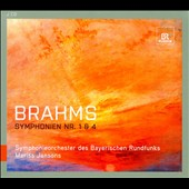 Brahms: Symphonies Nos 1 & 4 / Bavarian RSO - Jansons