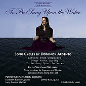 To Be Sung Upon the Water - Song Cycles / Bedi, Kust, et al
