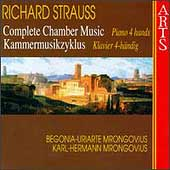 R. Strauss: Complete Chamber Music Vol 4 - Piano 4 hands