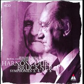 Bruckner: Symphonies 3, 4, 7 & 8 / Harnoncourt