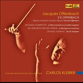 Carlos Kleiber - 3x Offenbach, based on Renato Mordo's triptych Dreimol Offenbach / Carlos Kleiber