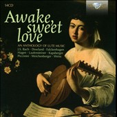 Awake, Sweet Love: A Lute Anthology - Dowland, Bach, Piccinini, Kapsberger, Purcell / Lindberg, D'Agosto, Contini, Torelli, North