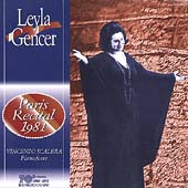 Leyla Gencer - Paris Recital