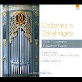 J.S. Bach: Trio Sonatas for Organ, BWV 525-530; C.F.G. Schwenke: Six Fugues for Organ / Rainer Goede, organ