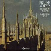 Brahms: Motets / Matthew Best, John Scott, Corydon Singers