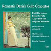 Romantic Danish Cello Concertos - Hartmann, Neruda, et al