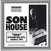 Son House: Live at Gaslight Cafe, 1965