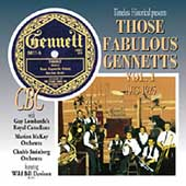 Various Artists: Those Fabulous Gennetts, Vol. 1: 1923-1925