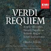 Verdi: Requiem / Abbado, Gheorghiu, Alagna, et al
