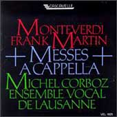 Monteverdi, Martin: Messes a capella / Corboz, Lausanne