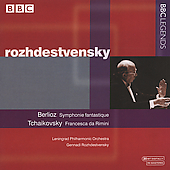 Berlioz, Tchaikovsky / Rozhdestvensky, Leningrad PO