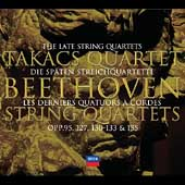 Beethoven: The Late String Quartets / Takács Quartet