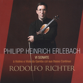 Erlebach: VI Sonate / Rodolfo Richter