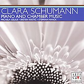 Clara Schumann: Piano and Chamber Music / Gelius Trio