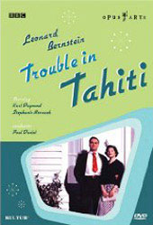 Bernstein: Trouble in Tahiti [DVD]