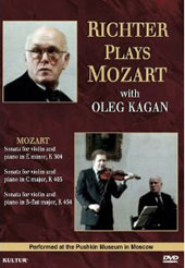 Richter Plays Mozart With Oleg Kagan [DVD]