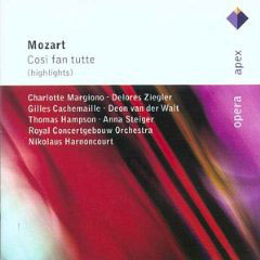 Mozart: Cosi Fan Tutte (Highlights)
