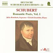 Deutsche Schubert-Lied-Edition 24 - Romantic Poets Vol 1