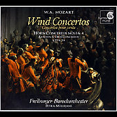 Mozart: Wind Concertos / M&uuml;llejans, Freiburg Barockorchester