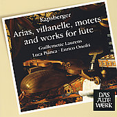 Kapsberger: Arias, Villanelle, Motets, and Works for Lute