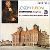 Haydn: Divertimentos Vol 5 / Vienna Philharmonia Trio