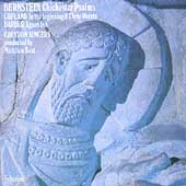 Bernstein: Chichester Psalms; Barber, Copland / Matthew Best