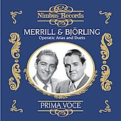 Prima Voce: Merrill & Bj&ouml;rling