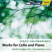 Rachmaninov: Works for Cello and Piano / David Geringas, Ian Fountain