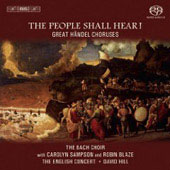 Handel: Great Handel Choruses / Hill, Sampson, Blaze, et al