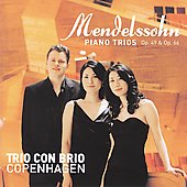 Mendelssohn: Piano Trio Op 49 &  Op 66 / Trio Con Brio