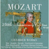 Mozart 250th Anniversary Edition: Chamber Works [16 CD]