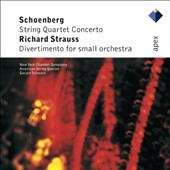 Schoenberg: String Qaurtet Concerto; Richard Strauss: Divertimento for Small orchestra