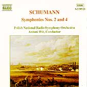 Schumann: Symphonies no 2 & 4 / Antoni Wit, Polish NRSO