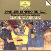 Mahler: Symphony no 7 / Abbado, Chicago SO