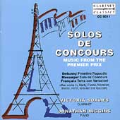 Solos de Concours Vol 1 - Debussy, Messager, etc / Soames
